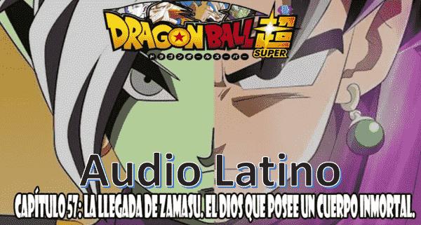 Ver capitulo 57 en audio latino online, Vegeta ha quedado muy malherido mientras que Son Goku es atacado por Zamasu.