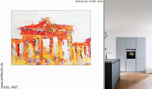 XXL Wallprints, dekorative, großformatige Kunstdrucke und abstrakte, XXL Fine Art Prints