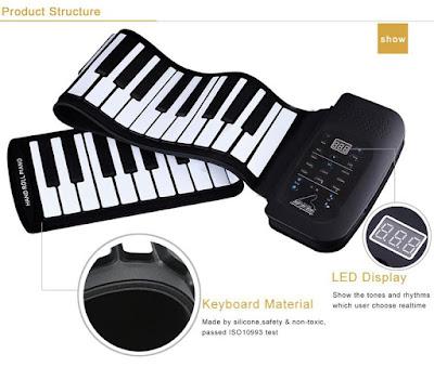 Địa chỉ bán đàn piano cuộn Starmart  ở tphcm