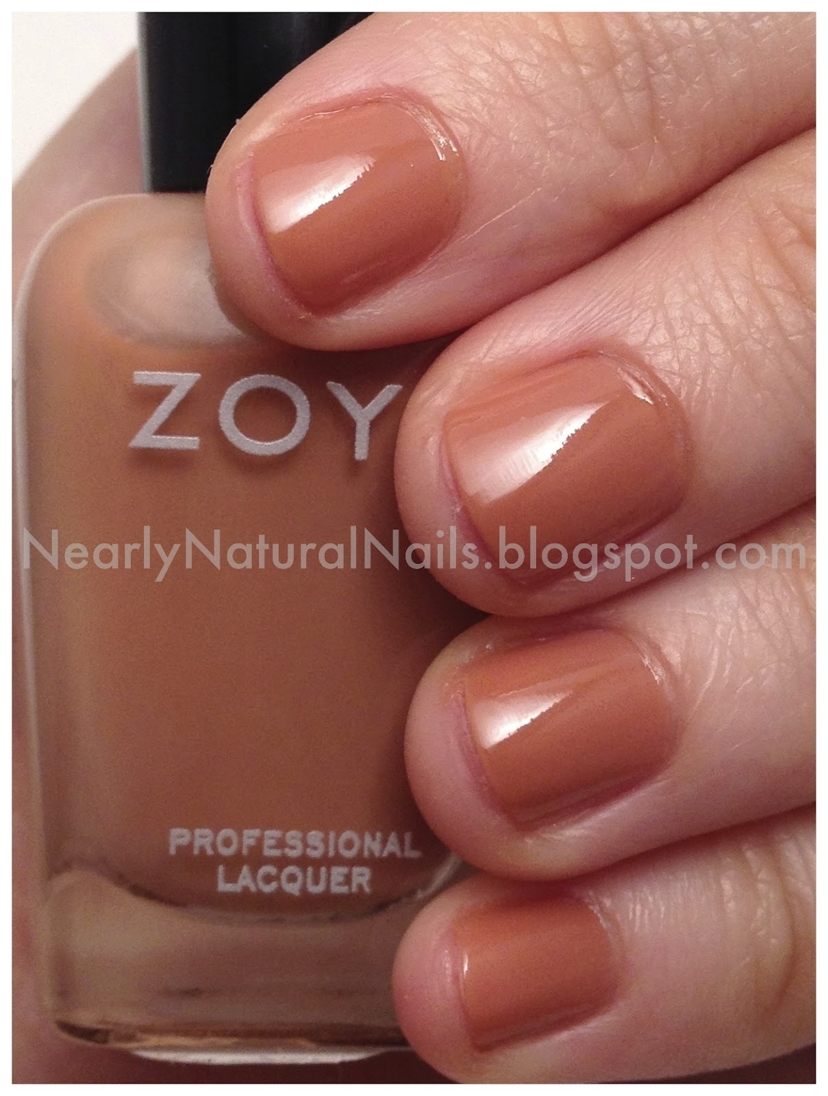 Zoya nail polish swatch  my stash  Flowie  2 coatsZoya Flowie