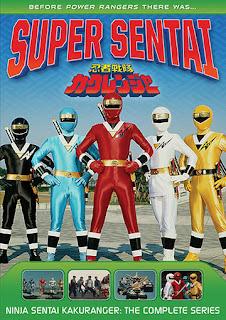 DVD Review - Super Sentai: Ninja Sentai Kakuranger: The Complete Series
