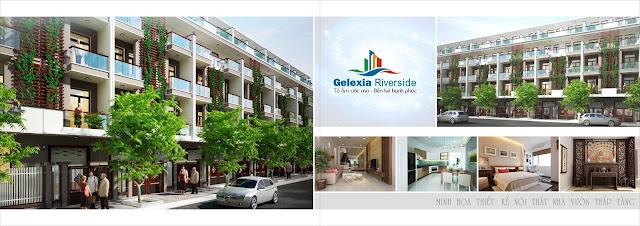 Nhà vườn liền kề Gelexia Riverside