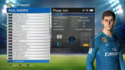 PES 2017 PES Professionals Patch 2017 Option File 08/08/2018