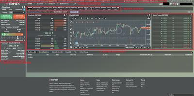 BitMex Trading Dashboard Walkthrough: Market Information