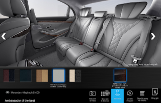Nội thất Mercedes Maybach S450 4MATIC 2018 màu Xám Magma 518