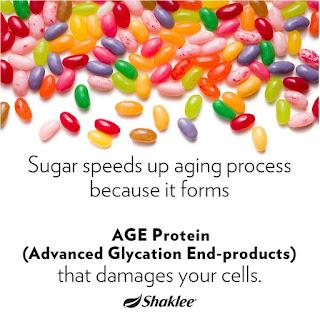 Vivix membantu menghalang pembentukan Protein AGEs penyebab penuaan