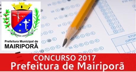 Apostila Prefeitura de Mairiporã SP 2017