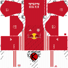 ec5b73a4cc8 ALLHERE  Information New York Red Bulls kits 2018 - Dream League ...