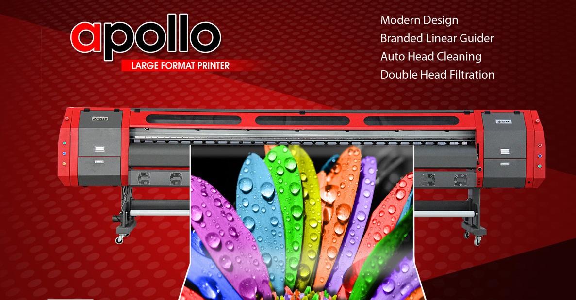 Tarpaulin Printer Apollo Konica Minolta 42pl 10 5ft