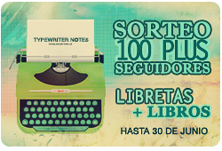 Sorteo 100+ Typewriter Notes ¡Participa!