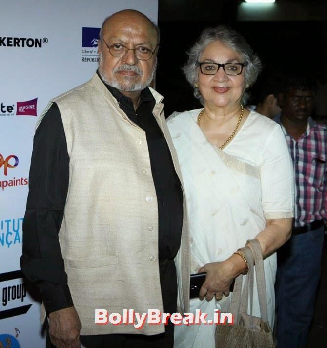 Shyam Benegal, Nira, Mumbai Film Festival 2014 Photos