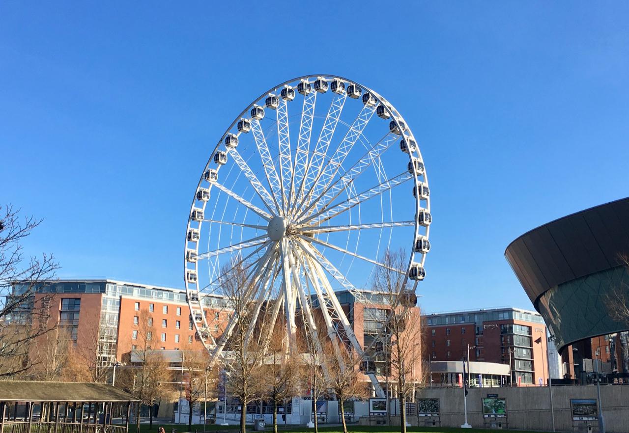 Wheel of Liverpool - Liverpool city break