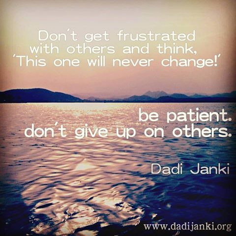 Dadi janki words