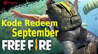 Free Fire adalah game survival yang sangat seru, dimana kita membutuhkan diamond untuk membeli item premium dalam game. Berikut daftar kode redeem Free Fire terbaru September 2019 dan dapatkan diamond gratis.