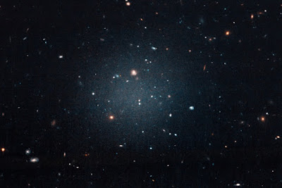 "Astronomers say that a recently discovered galaxy has ""almost no dark matter"", but dark matter has never been demonstrated to exist"