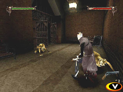 Download Game Nightmare Creatures II PS1 ISO