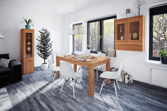 Jakie drewno na stół do kuchni? Porównanie gatunków