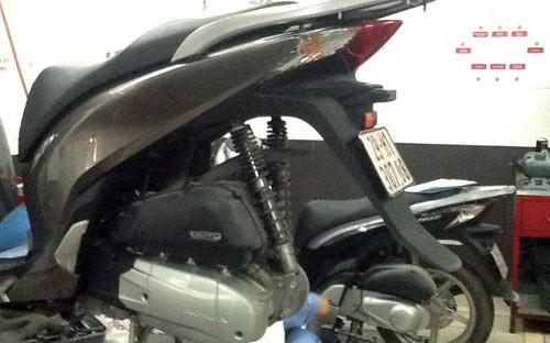 Một số lỗi xe Honda SH 2012