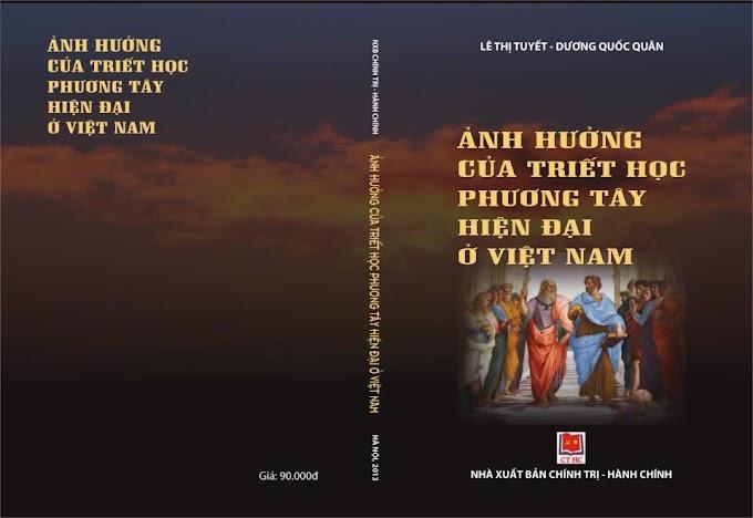 TS. Lê Thị Tuyết, TS. Dương Quốc Quân - Ảnh hưởng của triết học phương Tây hiện đại ở Việt Nam