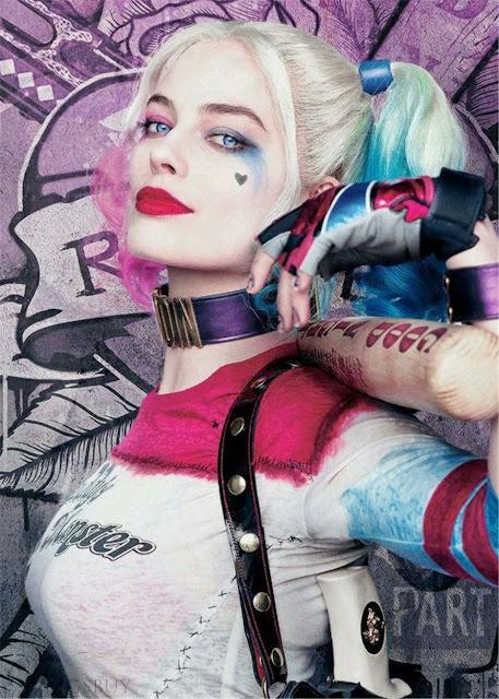 Fantasia Harley Quinn/Arlequina