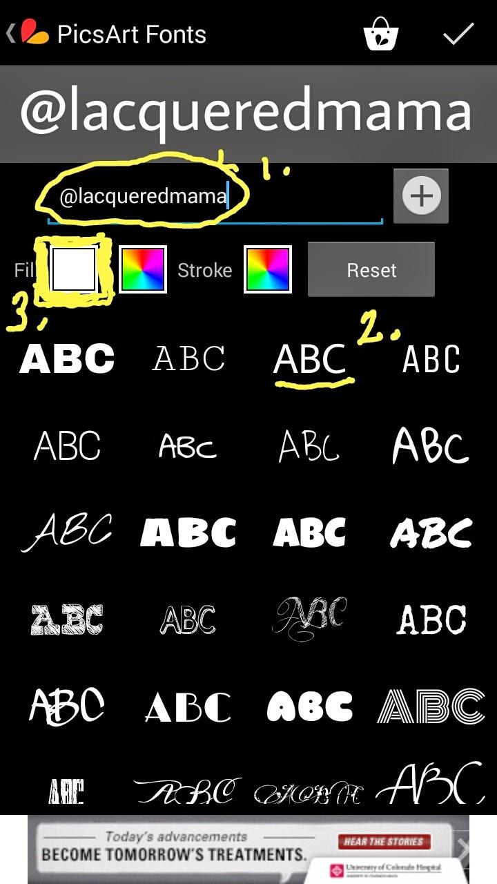Download LacqueredMama: Picsart Watermark Tutorial (Mobile App for ...