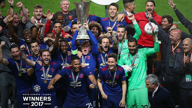 Manchester United Europa League 2017 Winners
