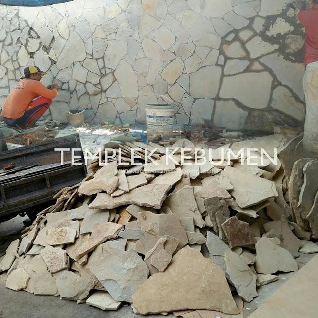 Pemasangan ter update batu templek kebumen dan bobos RTA