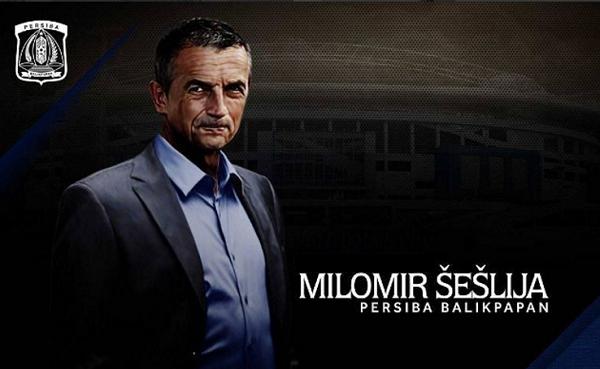 Pelatih Persiba Milomir Seslija Tak Ingin Pemainnya Jalan Kaki di Lapangan