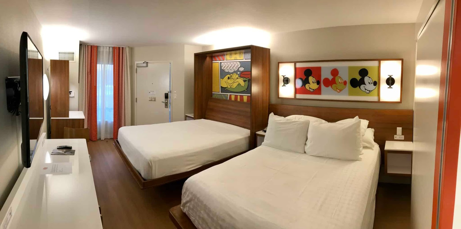 Quartos reformados do Disney's Pop Century Resorts