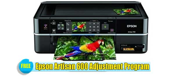 EPSON ARTISAN 600 ADJUSTMENT PROGRAM