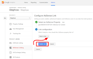 Link Adsense With Google Analytics - 6