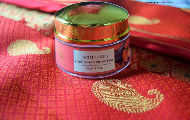 FOREST ESSENTIALS HAND POUNDED ORGANIC FRUIT SCRUB Price in India