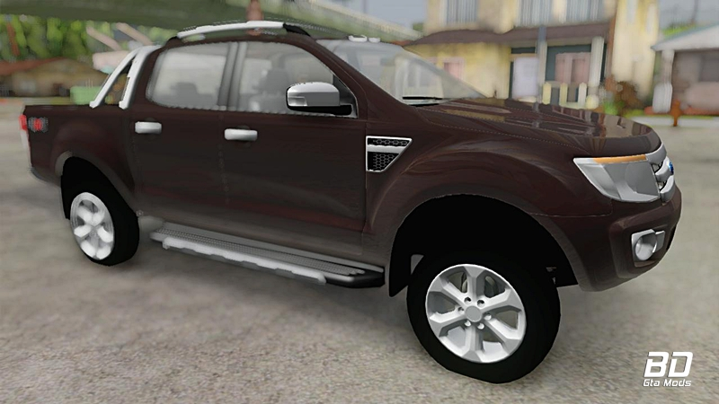 Download, mod, carro, Ford Ranger 2012 para GTA San Andreas, GTA SA PC