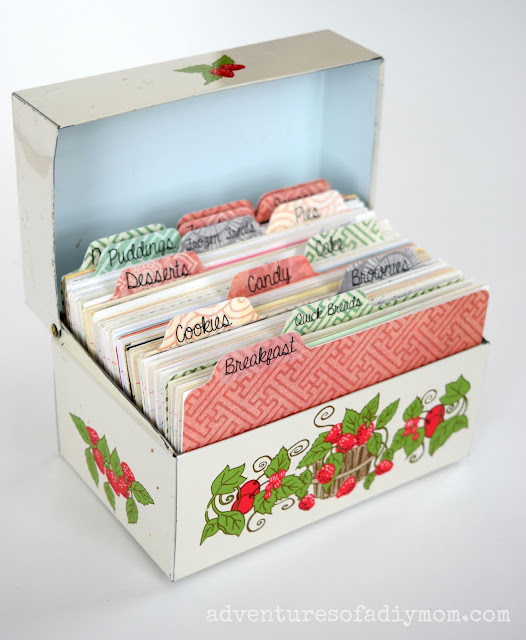 Recipe Box Recipe Dividers