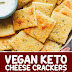 Vegan Keto Cheese Crackers (Low Carb)