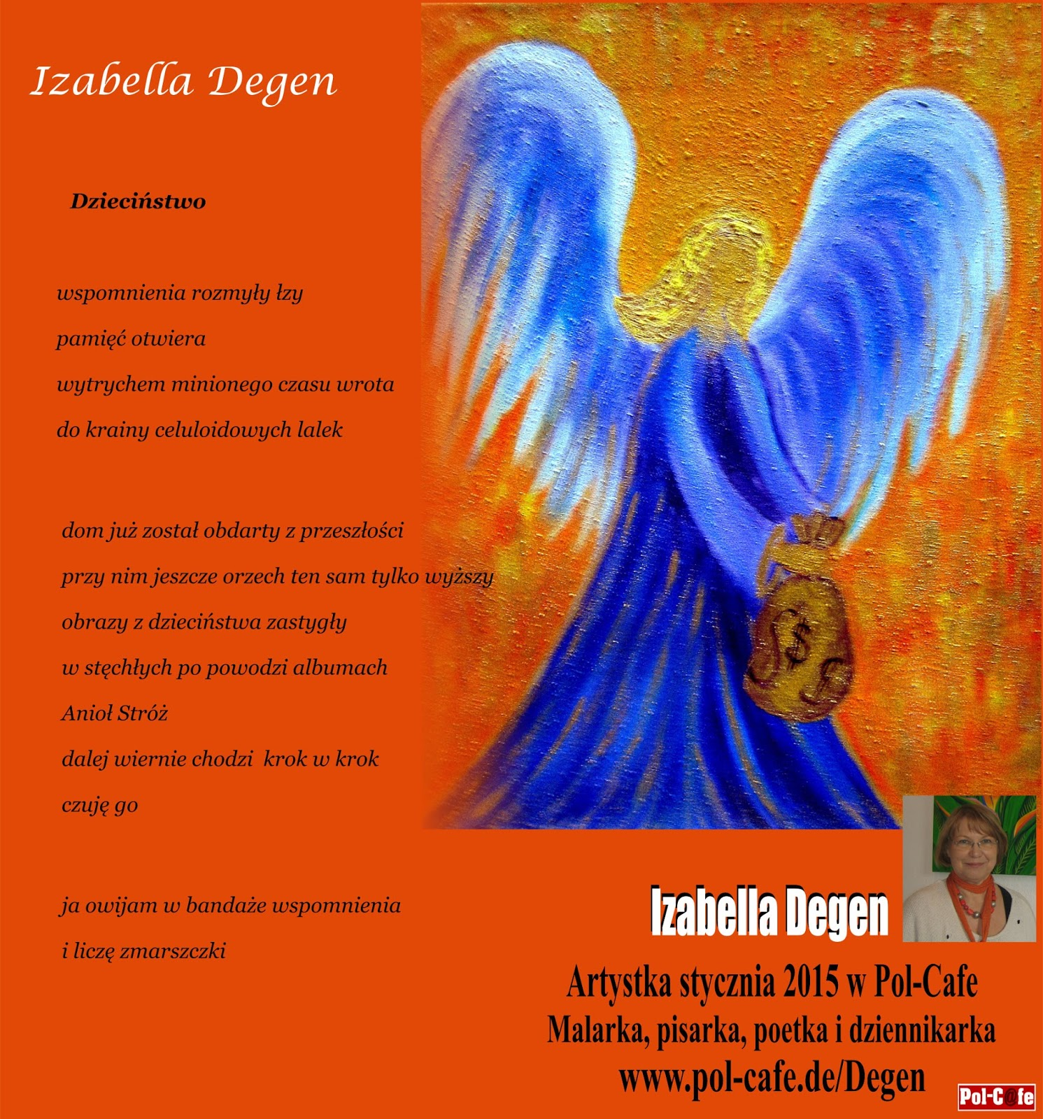 Proza I Poezja Izabelli Vel Isabel Degen Wiersze I Obrazy