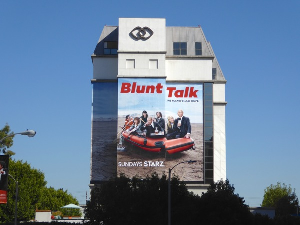 Blunt Talk season 2 Starz billboard