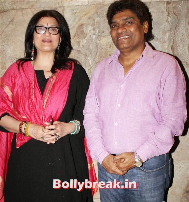 Sarika and Johnny Lever, Celebs as Special Screening of Club 60