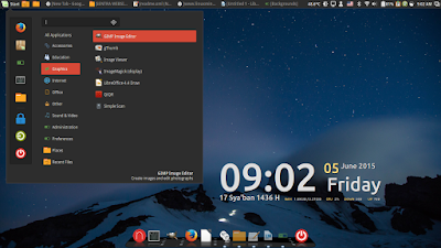 5. Cinnamon Desktop Numix Theme