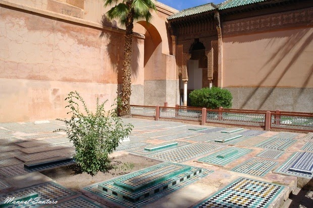Marrakech, Tombe Saadiane