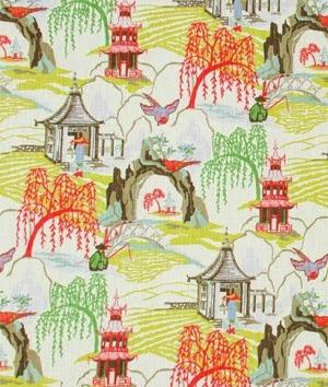 Neo Toile Fabric by Robert Allen
