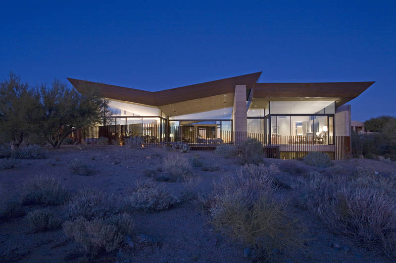 The Desert Wing House By Kendle Design