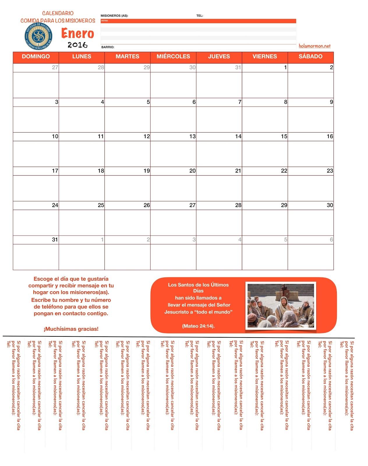 Holamormon Calendario Para Colorear Junio 2010 Para La