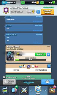 Cara Mudah Mendapatkan Gold Clash Royale Donasi Card