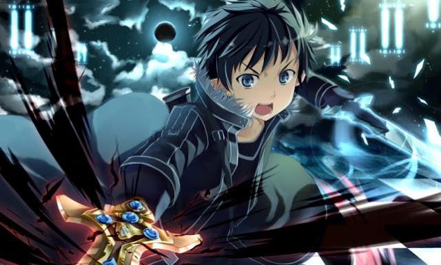 Kirito [ Sword Art Online ] - Karakter Player Anime Dalam Dunia Game Terkuat