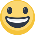 Grinning Facebook Emoticon