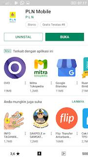 Buka aplikasi PLN Mobile