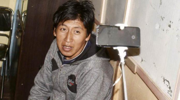 Juez determinó que Chambi no lanzó objeto alguno contra la humanidad de Morales / RRSS