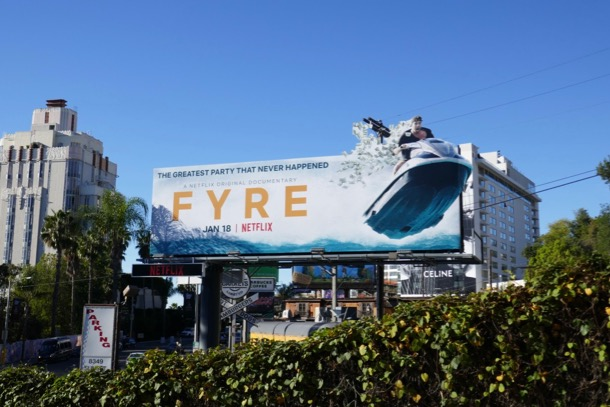 Fyre documentary billboard