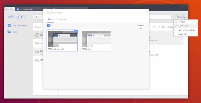 WPS Office 2019 Linux